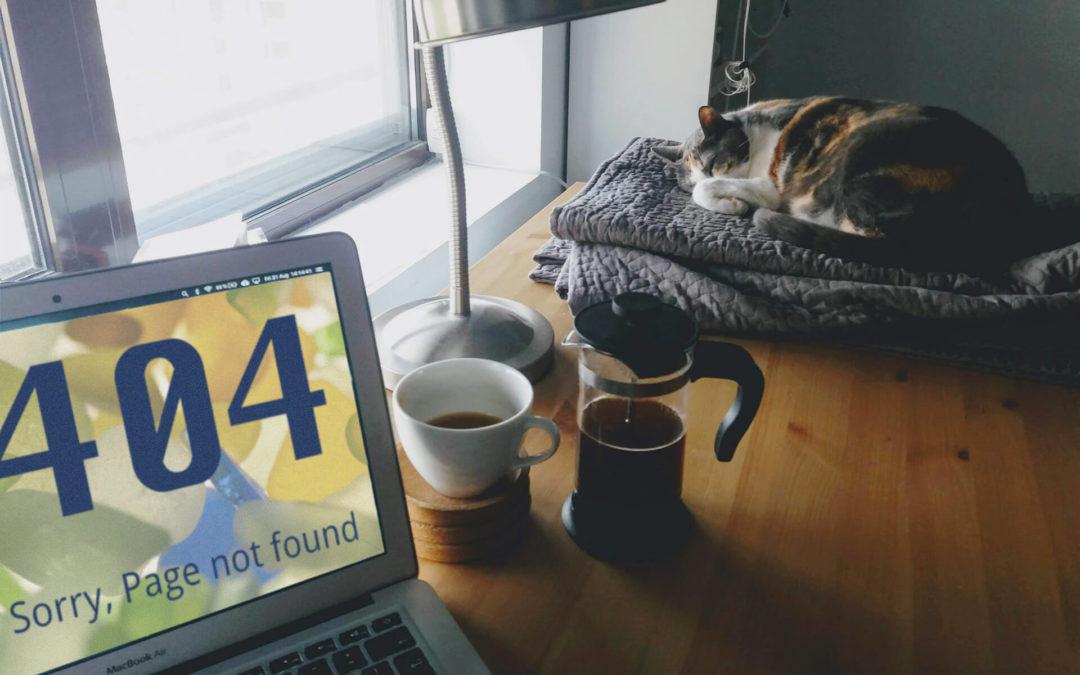 Sackgassen abschaffen (2): 404-Fehlerseiten richtig nutzen