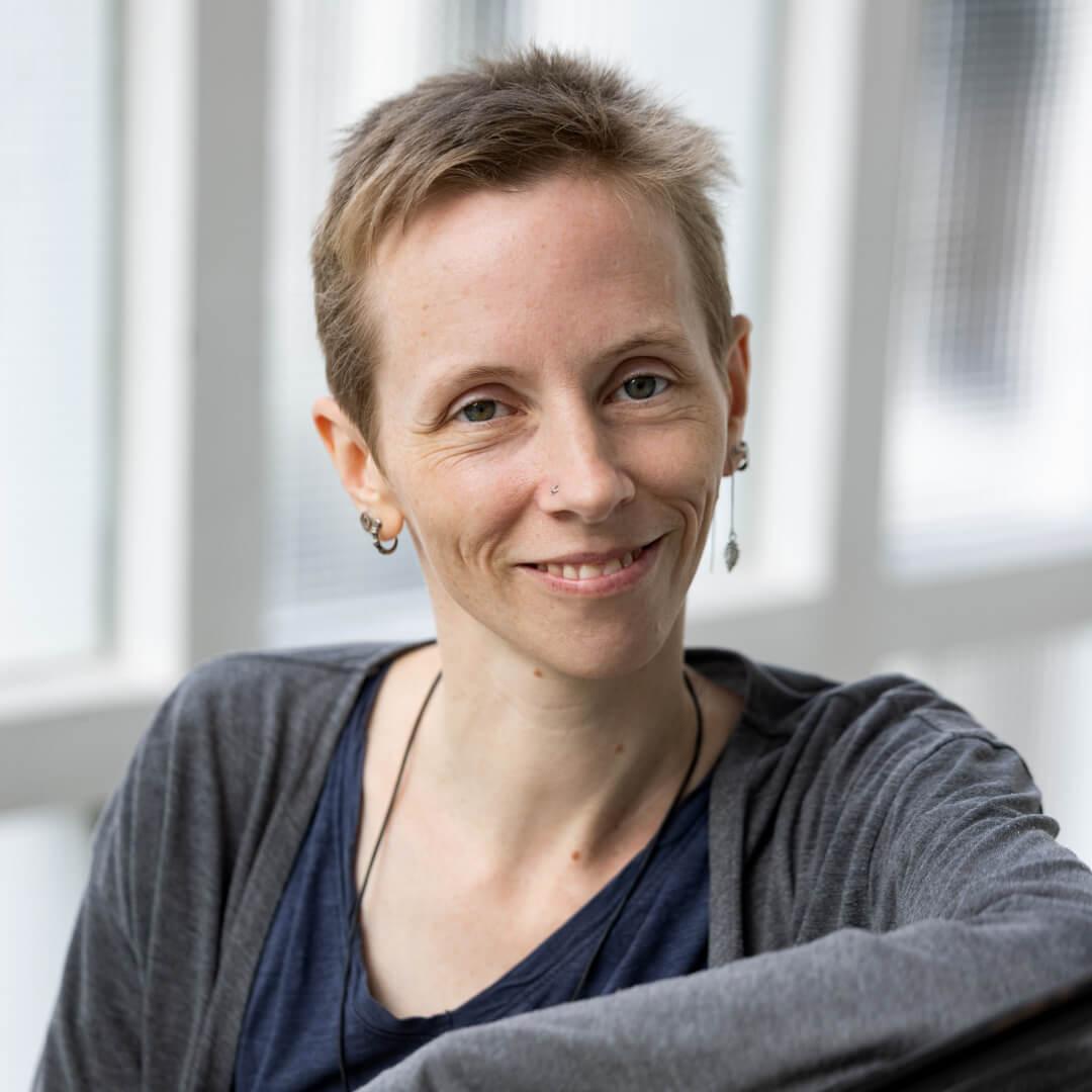 Portrait von Anna Kleiner, Expertin für Grav